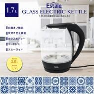 1.7Lガラス電気ケトル
