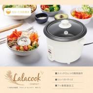 1.5合炊き炊飯器 ララクック コンパクト